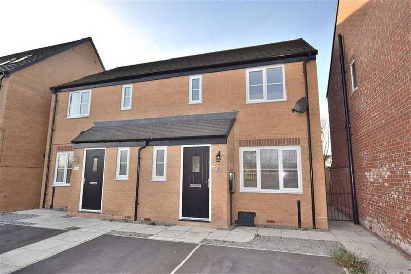 3 Bedrooms Semi Detached House for sale in Walkerville Road, Colburn, North Yorkshire
