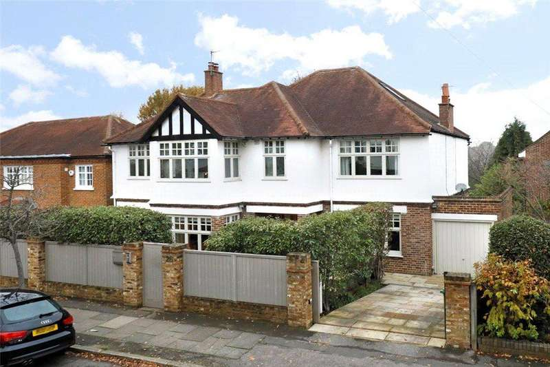 5 Bedrooms Detached House for sale in Ernle Road, Wimbledon, SW20