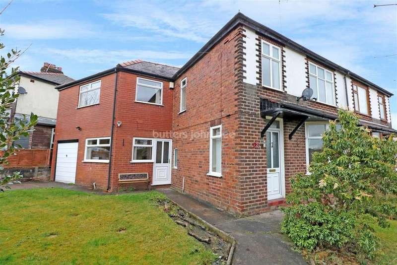4 Bedrooms Semi Detached House for sale in Waldon Road, Macclesfield