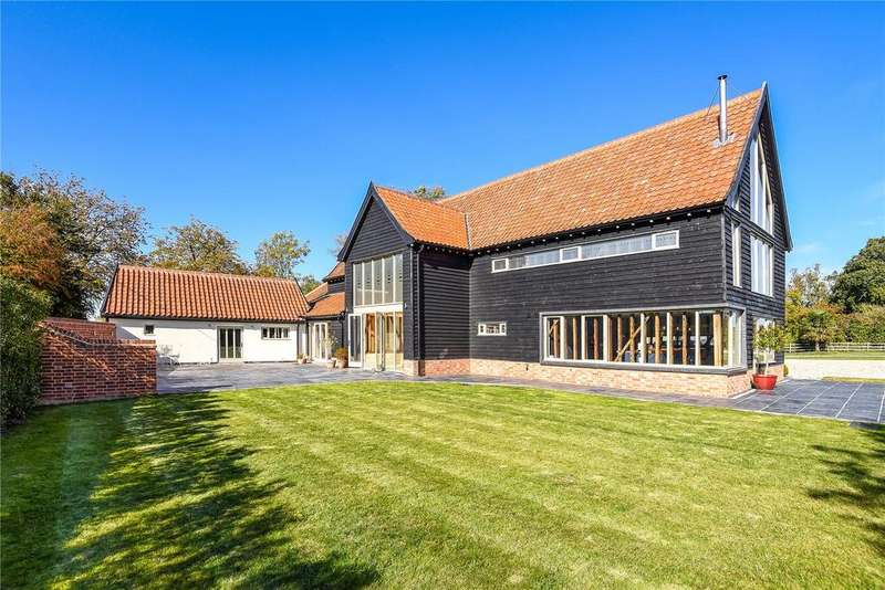 5 Bedrooms Detached House for sale in Mendlesham Green, Stowmarket, Suffolk, IP14