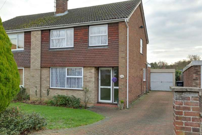 3 Bedrooms Semi Detached House for sale in Hilton Way, Sible Hedingham