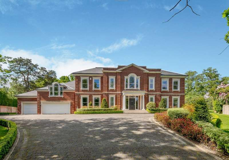 6 Bedrooms Detached House for sale in Fishers Wood, Sunningdale
