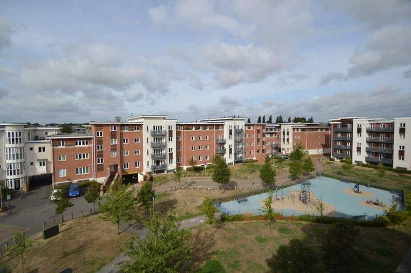 3 Bedrooms Apartment Flat for sale in Burghley Court, Kingsquarter, Maidenhead, Berkshire, SL6