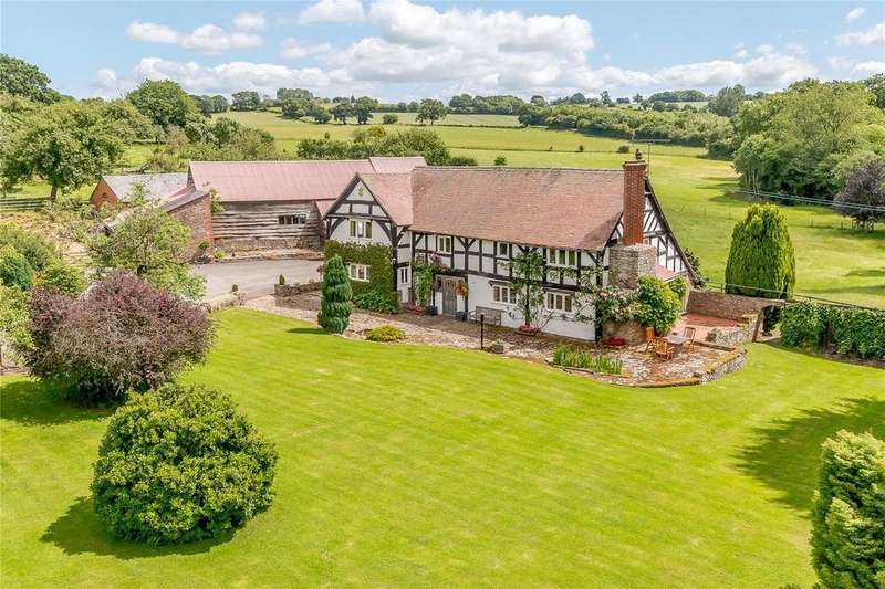 4 Bedrooms Detached House for sale in Kimbolton, Leominster, Herefordshire