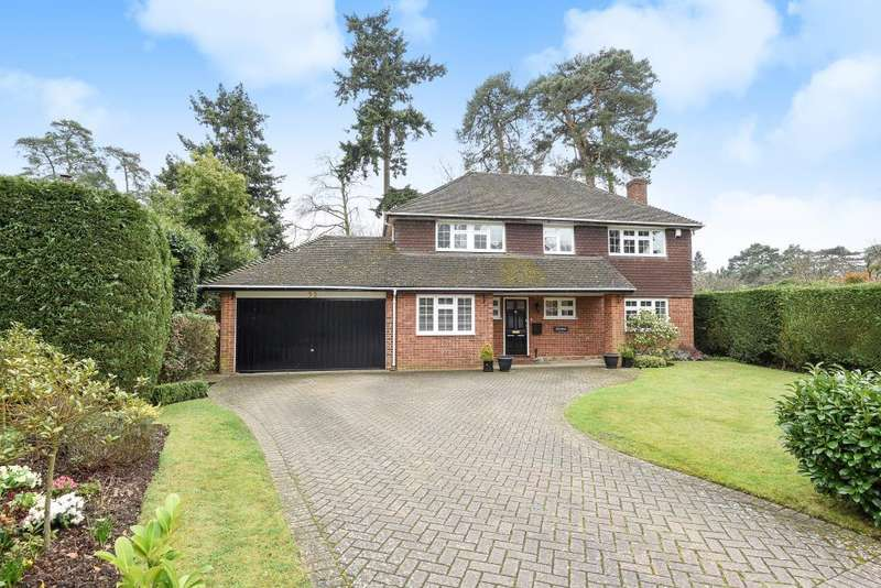 4 Bedrooms Detached House for sale in Armitage Court, Sunninghill, SL5