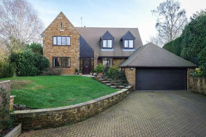 4 Bedrooms Detached House for sale in Mill Lane, Grimscote