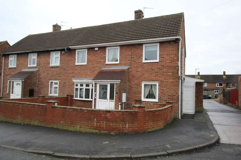 3 Bedrooms Semi Detached House for sale in Bede Terrace, Bowburn, Durham, DH6