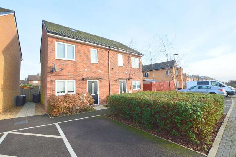 3 Bedrooms Semi Detached House for sale in Farley Meadows, Farley Hill, Luton, LU1 5FS