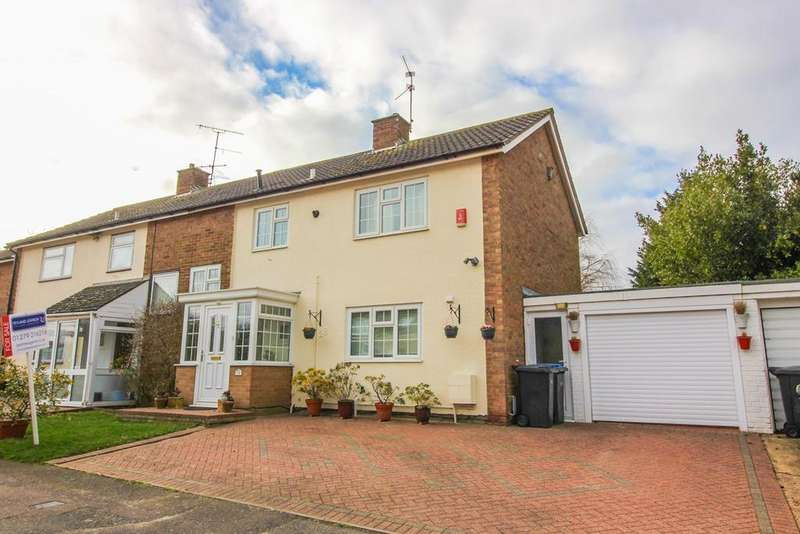 4 Bedrooms Semi Detached House for sale in Brook Lane Field, Harlow, CM18