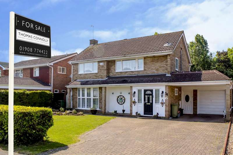 4 Bedrooms Detached House for sale in Windmill hill Drive, Bletchley, Milton Keynes MK3