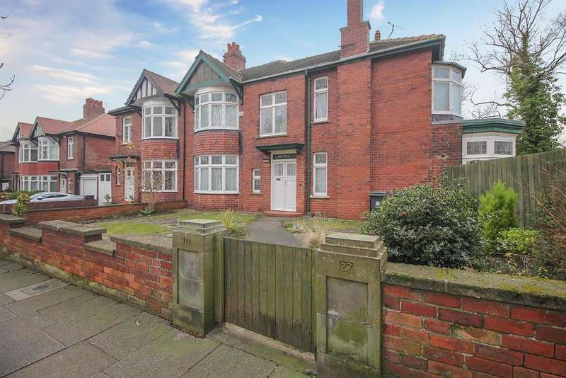 4 Bedrooms Semi Detached House for sale in Manor Road, Tynemouth