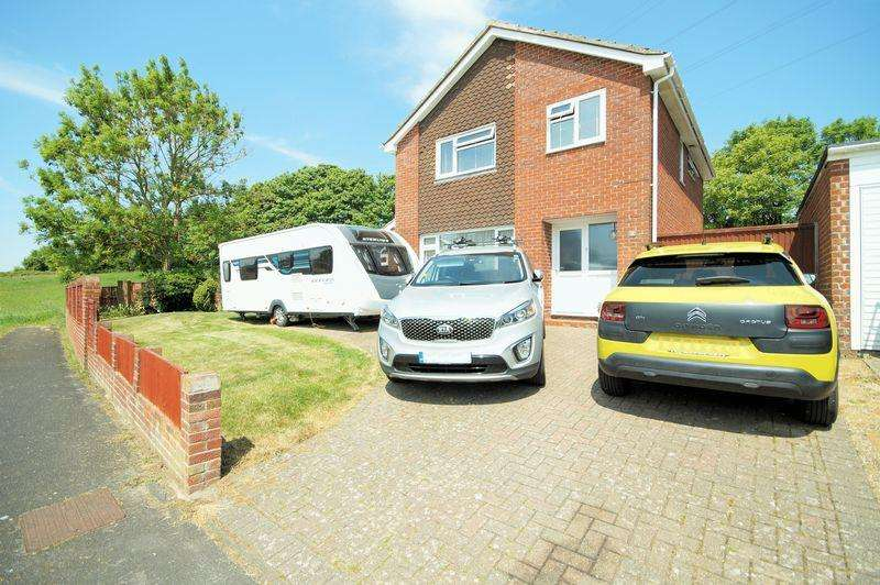 4 Bedrooms Detached House for sale in Leckford Close, Portchester