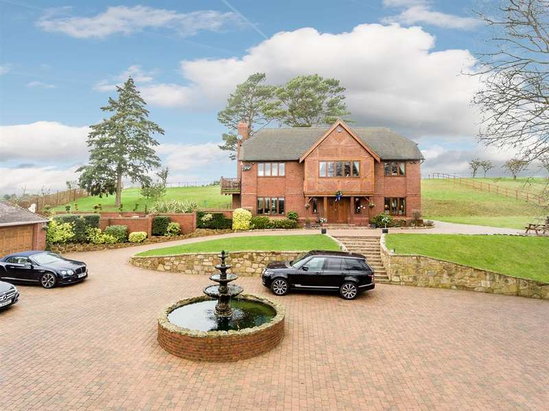 4 Bedrooms Detached House for sale in Norton Road, Iverley, Stourbridge, DY8 2RX