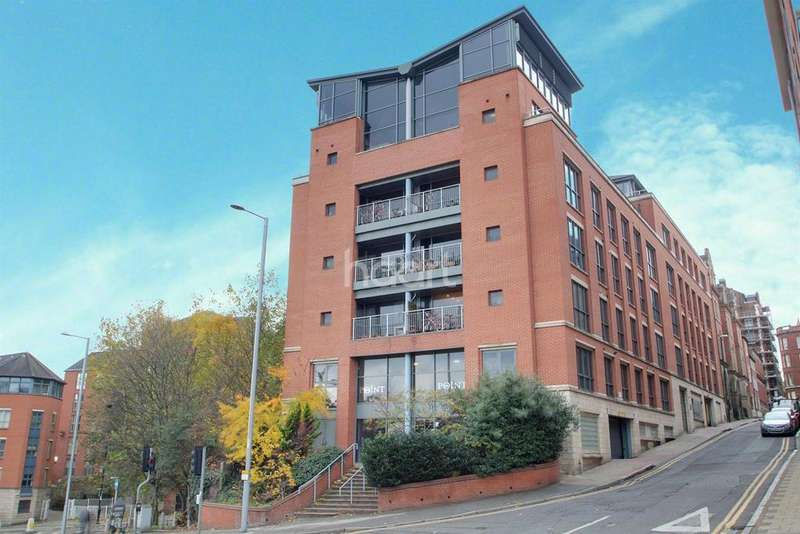 3 Bedrooms Flat for sale in The Point, Nottingham