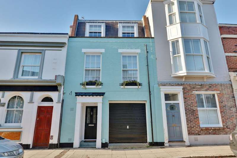 4 Bedrooms Town House for sale in Great Southsea Street, Southsea