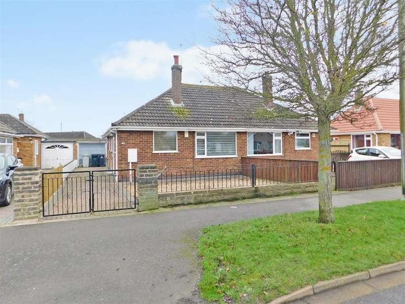 2 Bedrooms Semi Detached Bungalow for sale in Richmond Drive, Skegness, Lincs, PE25 3PQ