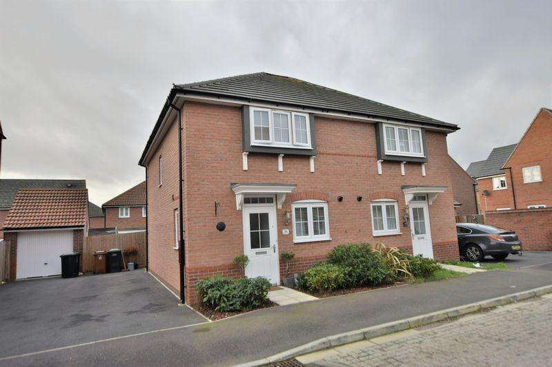 3 Bedrooms Semi Detached House for sale in Vespasian Way, North Hykeham, Lincoln