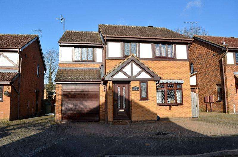3 Bedrooms Detached House for sale in Cherry Grove, Great Glen Leicestershire