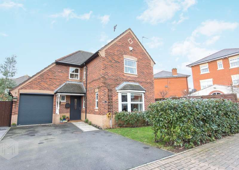 4 Bedrooms Detached House for sale in Beckett Drive, Winwick, Warrington, WA2