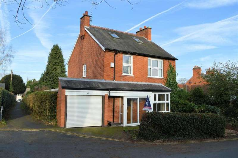 4 Bedrooms Detached House for sale in Church Road, Glenfield, Leicester