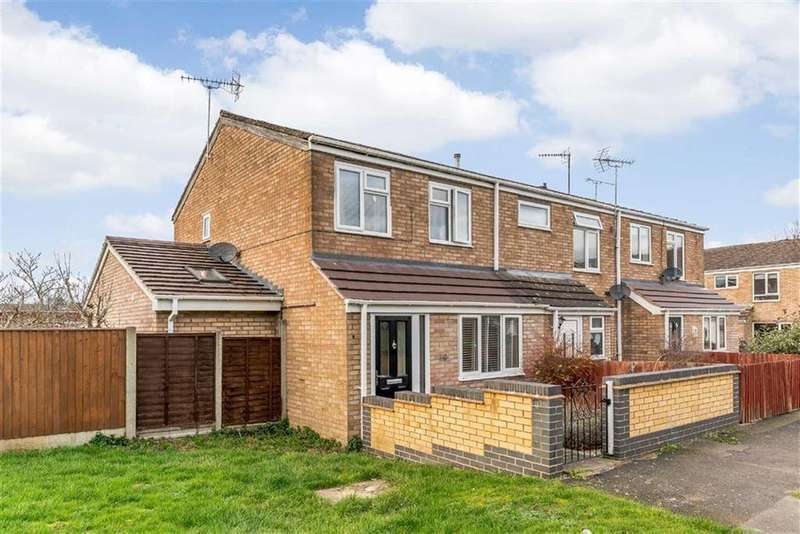 3 Bedrooms End Of Terrace House for sale in Cherington Close, Worcester