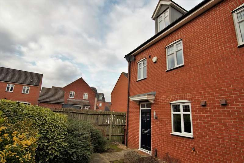 3 Bedrooms Town House for sale in Flaxley Road, Lincoln
