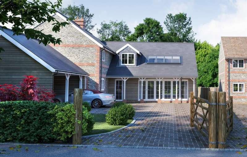 5 Bedrooms Detached House for sale in Fox Hills Road, Lytchett Matravers, Poole