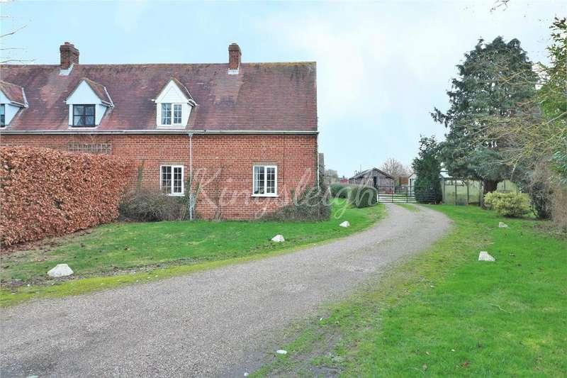 2 Bedrooms Semi Detached House for sale in Tile Barn Lane, Lawford, Manningtree, Essex, CO11
