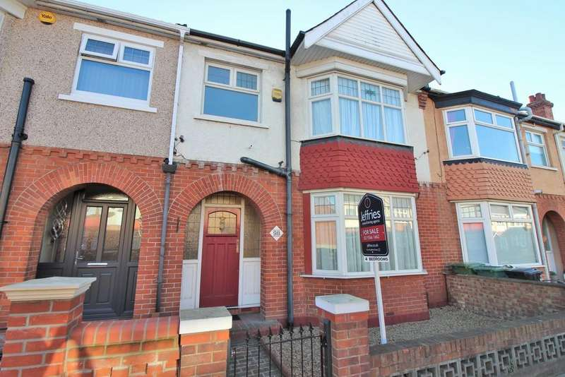 4 Bedrooms Terraced House for sale in Northern Parade, Hilsea