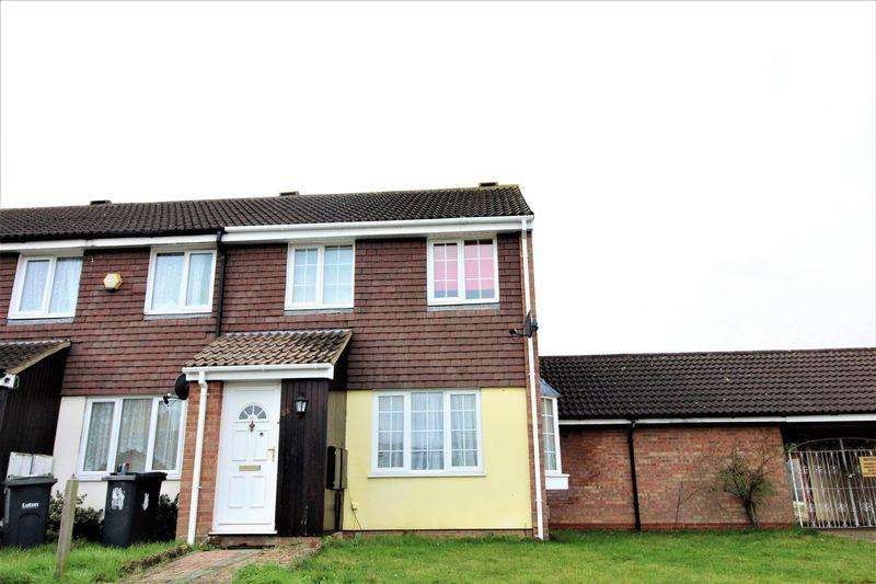 4 Bedrooms End Of Terrace House for sale in Four Bedroom End of Terrace on Coltsfoot Green, Birds Area
