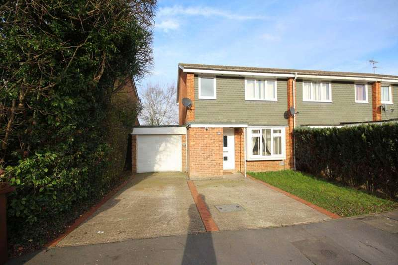 3 Bedrooms End Of Terrace House for sale in Knightswood, Bracknell