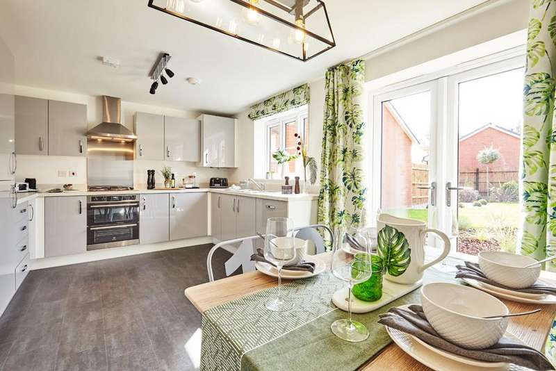 3 Bedrooms Terraced House for sale in Plot 27, The Dendy, Tavistock Place, BEDFORD, MK45