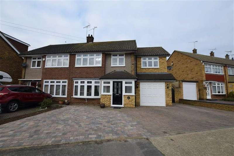 5 Bedrooms Semi Detached House for sale in Andersons, Corringham, Essex