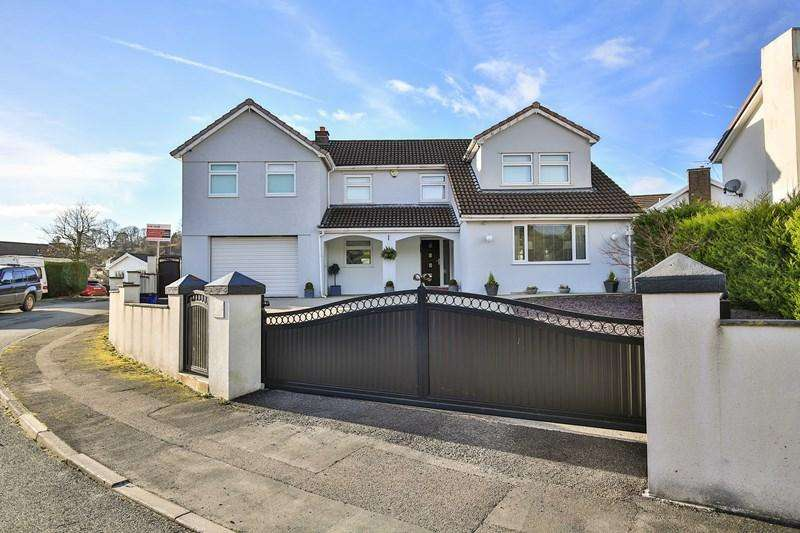5 Bedrooms Detached House for sale in Castell Morlais, Pontsticill, Merthyr Tydfil
