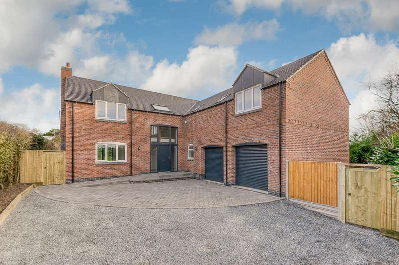 4 Bedrooms Detached House for sale in Parsons Lane, Sharnford, Hinckley
