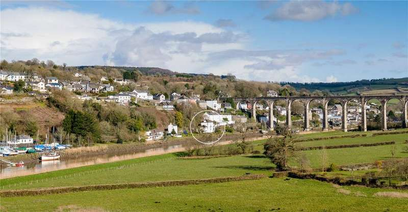 3 Bedrooms Semi Detached House for sale in Lower Kelly, Calstock, Cornwall, PL18