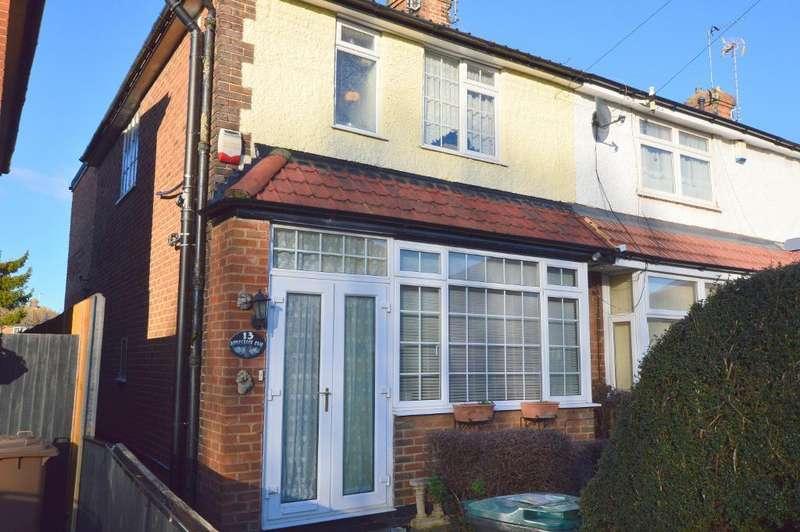 3 Bedrooms End Of Terrace House for sale in Applecroft Road, Putteridge, Luton, LU2 8BB