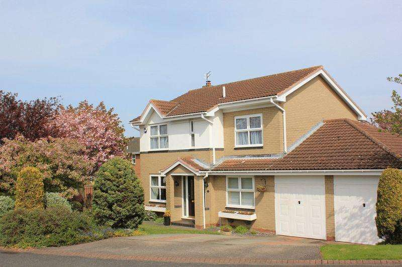 4 Bedrooms Detached House for sale in Humford Way, Bedlington