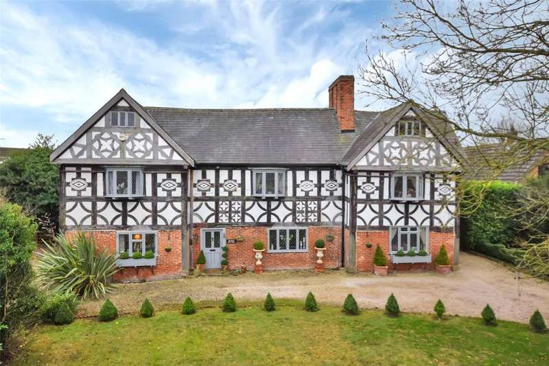 6 Bedrooms Detached House for sale in Wakelyn Old Hall, Hilton, Derbyshire