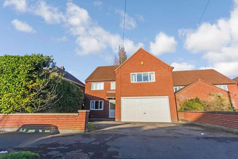 4 Bedrooms Detached House for sale in Triumph Road, Glenfield, Leicester, LE3