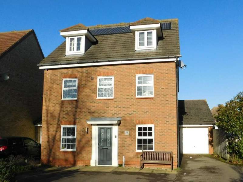 5 Bedrooms Detached House for sale in Chancellors, CHURCH END, Arlesey, Beds SG15 6YB
