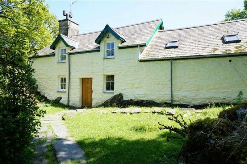 2 Bedrooms Detached House for sale in Pont Y Pant, Dolwyddelan, Betws Y Coed