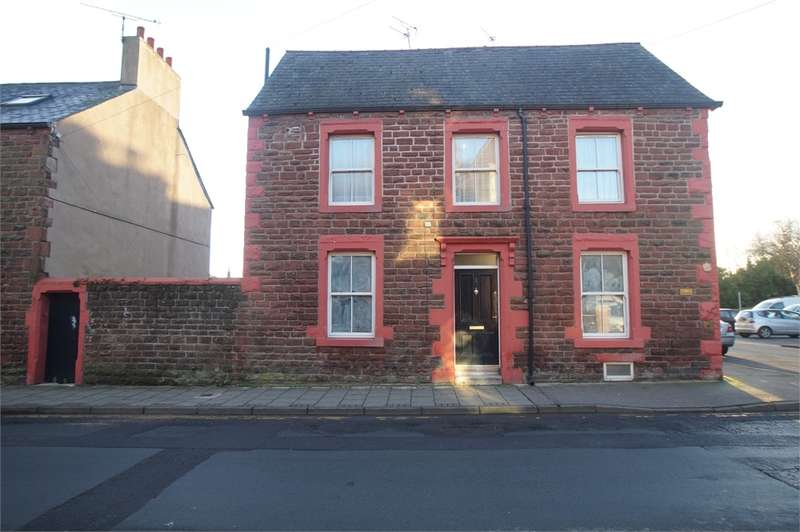 4 Bedrooms End Of Terrace House for sale in CA15 6DD Station Street, Maryport, Cumbria
