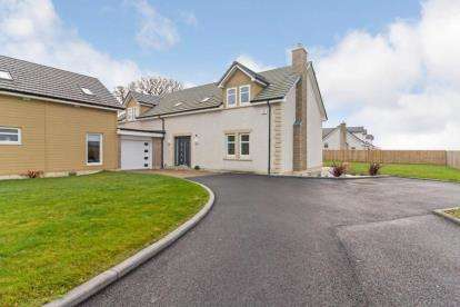 4 Bedrooms Detached House for sale in The Oaks, Moss Road, Dunmore