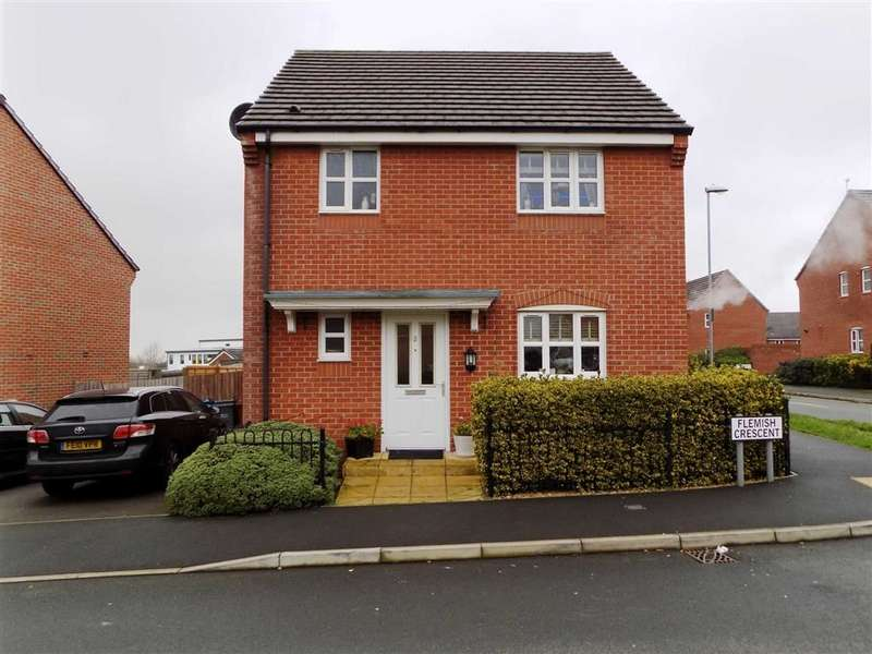 3 Bedrooms Detached House for sale in Flemish Crescent, Manchester