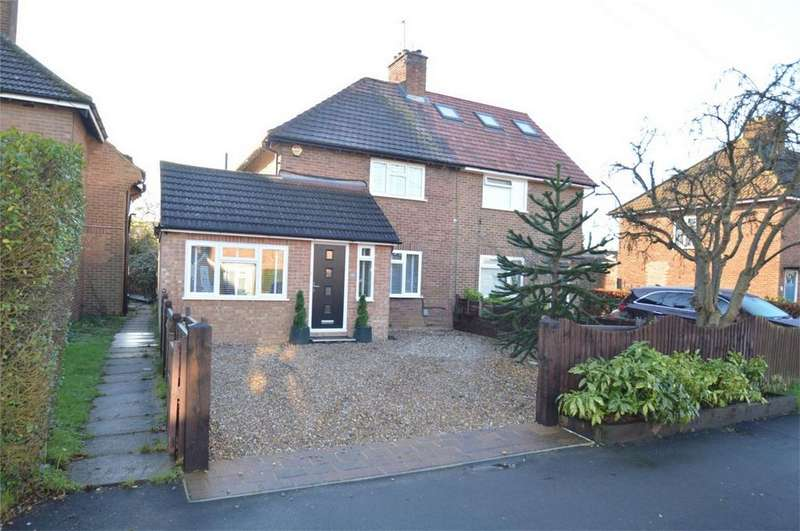 4 Bedrooms Semi Detached House for sale in Dellfield Road, HATFIELD, Hertfordshire