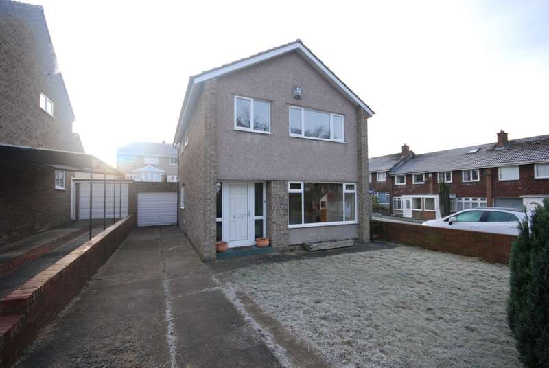 3 Bedrooms Detached House for sale in Polpero Close, Birtley