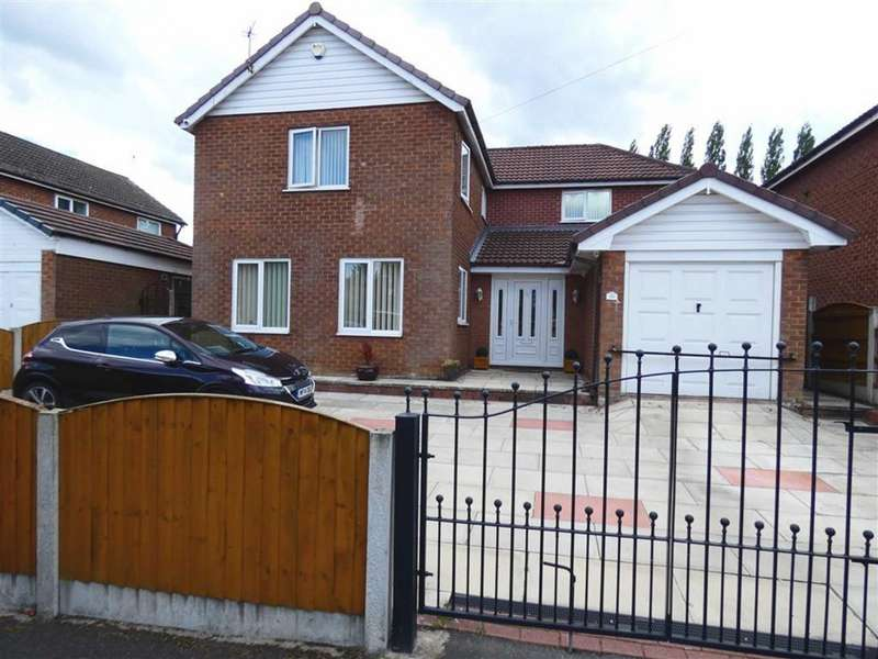4 Bedrooms Detached House for sale in Patchcroft Road, Peel Hall