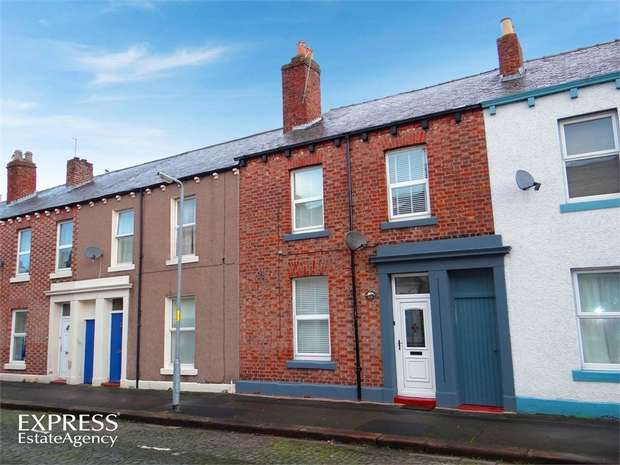 4 Bedrooms Terraced House for sale in Sheffield Street, Carlisle, Cumbria