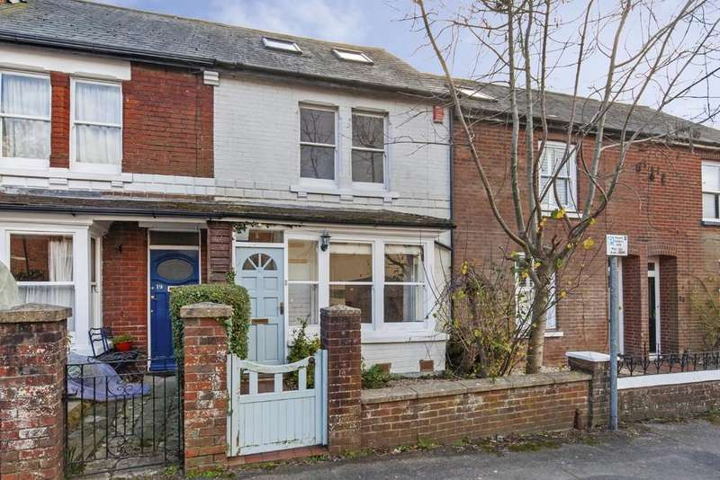 4 Bedrooms Terraced House for sale in Highcliffe Road, Highcliffe, Winchester, SO23